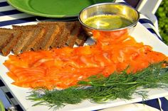 Get Gravlax with Mustard Sauce Recipe from Food Network