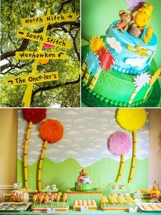 An Incredible, Lorax Inspired Birthday Party by Bird's Party