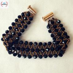 Beading, Bracelets, Jewelry, Fashion, Plaster, O Beads, Bangles, Jewellery Making, Moda