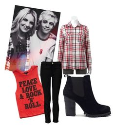 """""""Rydel inspired"""" by ashleyyybrookeee ❤ liked on Polyvore featuring Forever 21, Forever Unique, Shoe Cult, R5 and Rydel"""