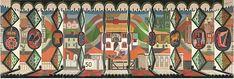 "Modern British Art by Edward Bawden: ""The English Pub, 1949 Victoria And Albert Museum, The Guardian, Golden Age, Modern Art, Artsy, Ocean, English, Fine Art, Gallery"