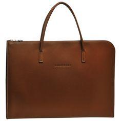 Document holder - LE FOULONNÉ - Handbags - Longchamp - Mocha - Longchamp United-States