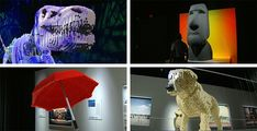 World's largest Lego art exhibition opens In Cincinnati. Whoa!  The artist gave up a career in law for his art.