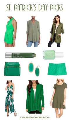 Don't get pinched on St. Patrick's Day!  Check out these green goodies, all for under $100!