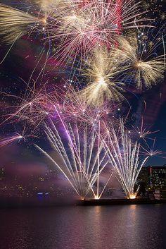 Fourth of July Fireworks - Portland 2012