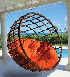 Retro Hanging Chair!