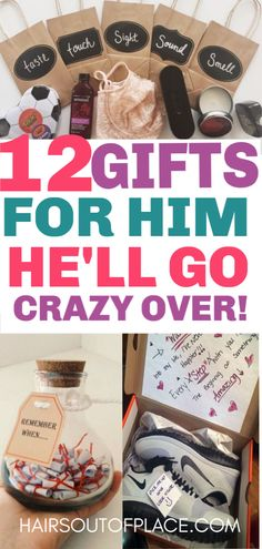 12 DIY boyfriend gifts for Christmas, Valentines Day, birthdays or an anniversary. DIY gifts for him are easy, inexpensive and mean so much! # diy gifts for boyfriend christmas 20 Cute Valentines Day Gifts for Him - Hairs Out of Place Cute Valentines Day Gifts, Valentines Day Birthday, Birthday Diy, Funny Valentine, Birthday Ideas, Valentines Day Gifts For Him Boyfriends, Birthday For Him, Homemade Valentines, Funny Birthday
