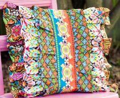 Glam-O-Ruffle Pillow