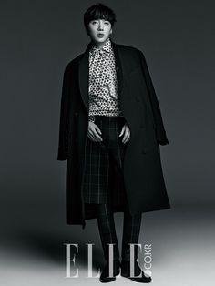 KANG SEUNGYOON x WINNER | ELLE MAGAZINE DECEMBER '14 ISSUE