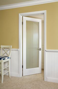 Narrow Reed Gl Floors Windows Doors Products On Houzz Frosted Interior O