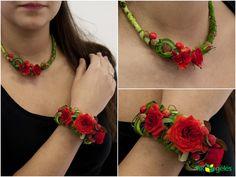 red rose jewellery