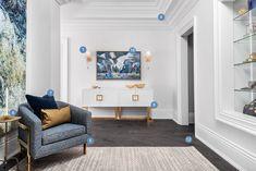 Entryway to master bedroom suite Dream Bedroom, Master Bedroom, Scott Mcgillivray, Ensuite Bathrooms, Grand Entrance, Awesome Bedrooms, Gallery Wall, Furniture, Design