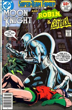Super-Team Family: The Lost Issues! Moon Knight Batgirl and Robin