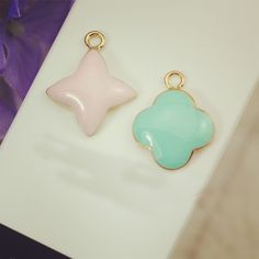 Find More Charms Information about 10pcs/lot Quadrangular floating Enamel Charms…