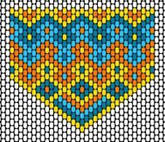 Peyote pattern for star of david Peyote Stitch Patterns, Beading Patterns Free, Beaded Bracelet Patterns, Beading Tutorials, Jewelry Patterns, Bead Patterns, Weaving Patterns, Knitting Patterns, Pocahontas