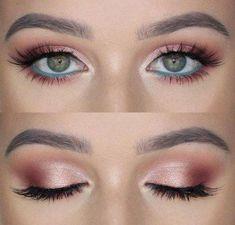 Wedding Nails Blue Brows 70+ Ideas #nails #wedding #BestEyeSerum Pink Eyeshadow Palette, Eyeshadow For Blue Eyes, Cut Crease Eyeshadow, Smokey Eyes, Shimmer Eyeshadow, How To Apply Eyeliner, How To Apply Makeup, Best Eye Serum, Black Girl Makeup