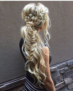 40 Blonde Balayage Looks Up Hairstyles, Pretty Hairstyles, Braided Hairstyles, Wedding Hairstyles, Princess Hairstyles, Beautiful Braids, Gorgeous Hair, Coiffure Hair, Makeup For Blondes