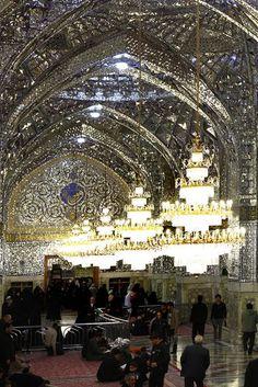 Dar-al-Velayah Porch,Imam Reza shrine, Mashhad, Iran (Islamic Art)