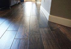 porcelain flooring Wood-look tile floori - Wood Like Tile Flooring, Tile Looks Like Wood, Ceramic Wood Tile Floor, Wood Tile Kitchen, Wood Look Tile Floor, Flooring Ideas, Kitchen Flooring, Vinyl Flooring, Wood Looking Tile