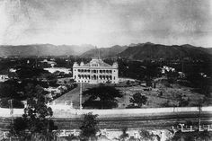 `Iolani Palace. I love the old photos of Hawaiian history.