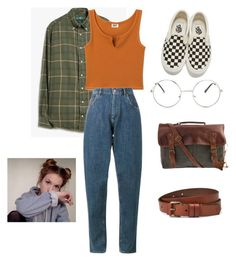 """Lazy."" by itsanaleis on Polyvore featuring Gitman Bros. Vintage, Miu Miu, Liebeskind, SHARO, Nasty Gal and Vans"