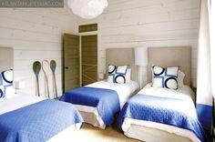 Suzie: Atlanta Homes & Lifestyles - Kay Douglas - Beachy boy's bedroom design with white ...