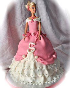 Barbie doll cake by Cakes by Sonja, via Flickr