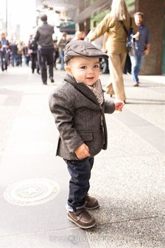 lill boy but very stylish!!!
