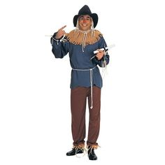 Plus Size The Wizard of Oz Scarecrow Costume - Adult Plus, Size: 1XL, Multicolor