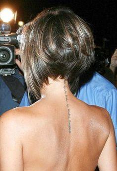 victoria beckham   Le tatouage de Victoria Beckham