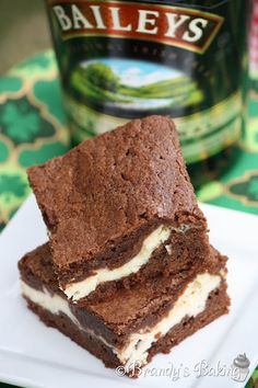 Baileys  Irish Creme Brownies