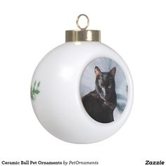 Ceramic Ball Pet OrnamentsCapture wonderful family memories with a personalized ceramic ball ornament. Select from three festive holiday designs then customize the face of the ornament with your favorite photos, images and text to create a priceless keepsake.