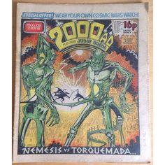 2000 AD #239 November 1981 UK Paper Sci Fi Comic