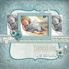Tiny Miracles...beautiful baby page