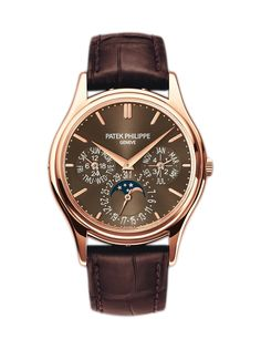 Patek Philippe Rose Gold Grand Complications  - Patek Philippe Rose Gold Grand Complications Perpetual Calendar