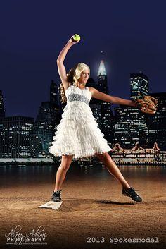 """Softball in the City""  ©Abrey Adams Photography  www.facebook.com/abreyadamsphotography"