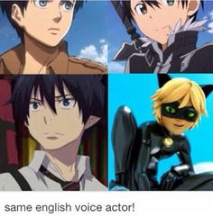 this voice actor voices everyone he also voices the blonde guy from