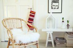 Marimekko Christmas sock.