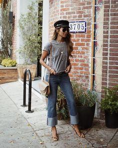 "Shop Sincerely Jules (@shop_sincerelyjules) on Instagram: ""Demi jeans x tee kinda day! ❤️ | shopsincerelyjules.com"""