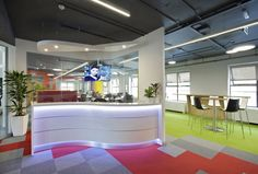 Huawei Global ICT office by Codex, Dublin – Ireland » Retail Design Blog