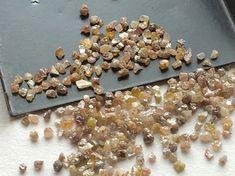 Brown Diamond Uncut Diamond Brown Rough Diamond by gemsforjewels