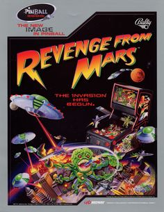 Revenge From Mars (1999 Bally/Midway) - Played in Newport, UK