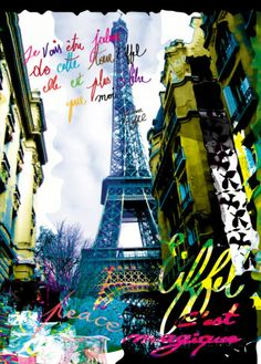 Magique Eiffel Prints by Kaly at AllPosters.com