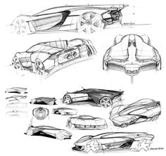 Bell and Ross AeroGT Concept - Design Sketches by Adrien Sene link: