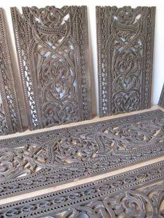 Victorian cast-iron floor grilles