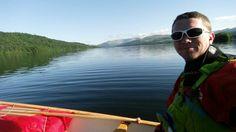 Enjoying a morning paddle #canoe