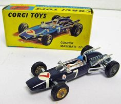Classic Car News Pics And Videos From Around The World Children's Toys, Old Toys, Corgi Toys, Matchbox Cars, Weird Cars, Maserati, Formula 1, Vintage Toys, Hot Wheels