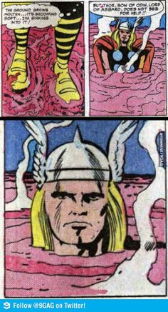 Thor, Son of Odin, Lord of Asgard does not beg for help!