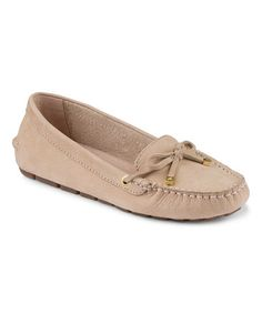 Look at this #zulilyfind! Tan Katharine Nubuck Leather Loafer by Sperry Top-Sider #zulilyfinds