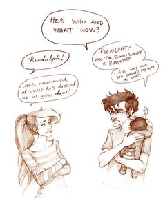 James, Lily and baby Harry by Mickisketch part 2